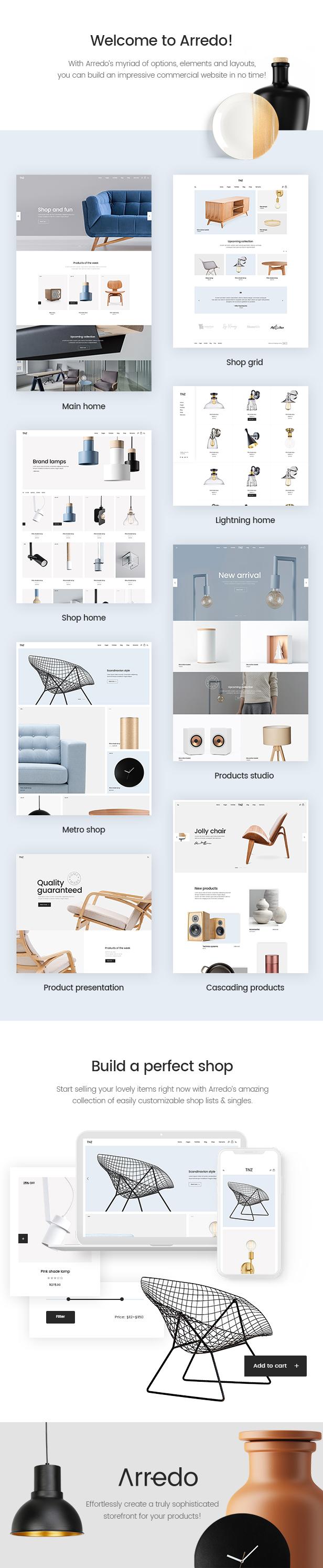 Arredo - Clean Furniture Store - 1  Download Arredo – Clean Furniture Store nulled 01